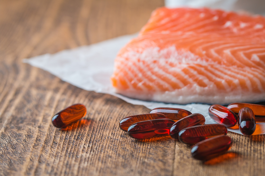 salmon, fish oil, fish oil supplement, omega-3 supplement