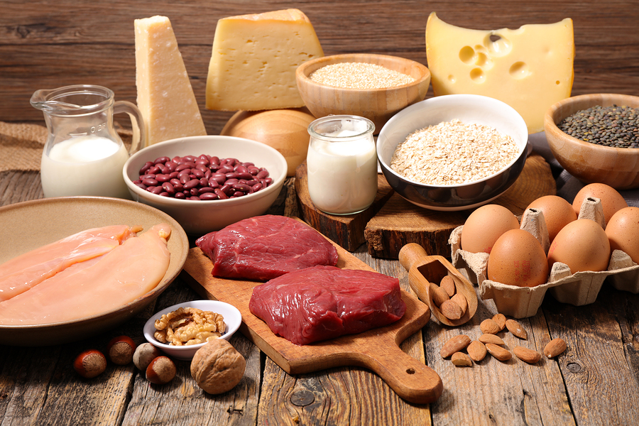 Protein foods, cheese, milk, yogurt, nuts, legumes, lentils, seeds, meat, chicken