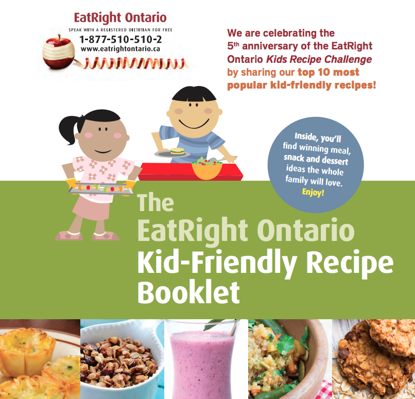 cover of a kid's recipe book