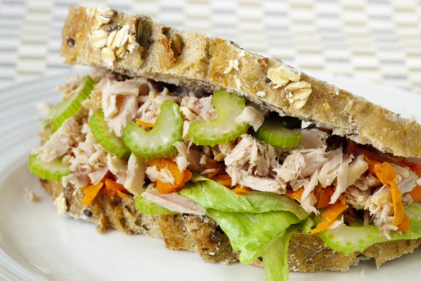 school lunch, lunch, recipe, jazzed up tuna sandwich, tuna sandwich, fish sandwich, recipe