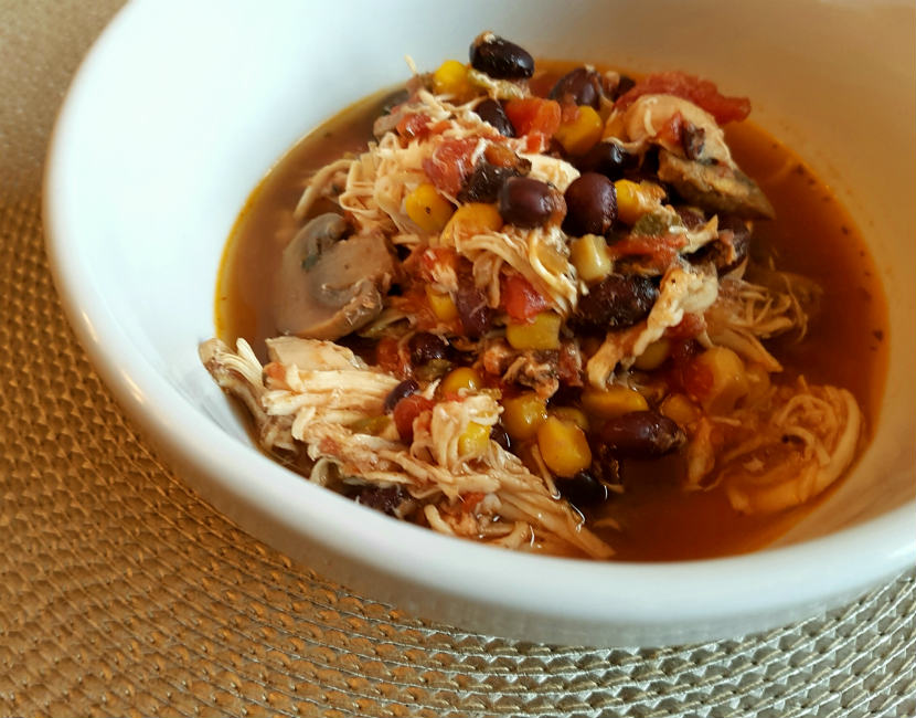 slow cooker recipe, pulled chicken, southwest, poultry
