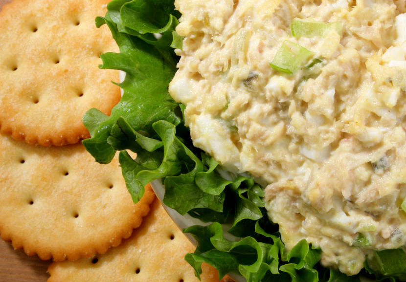 tuna salad sandwich, lunch, recipe, tuna, fish