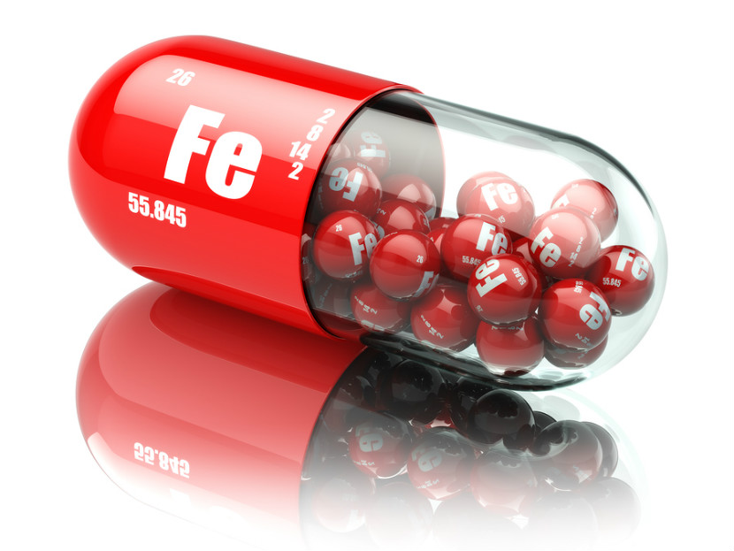 iron supplements in a capsule