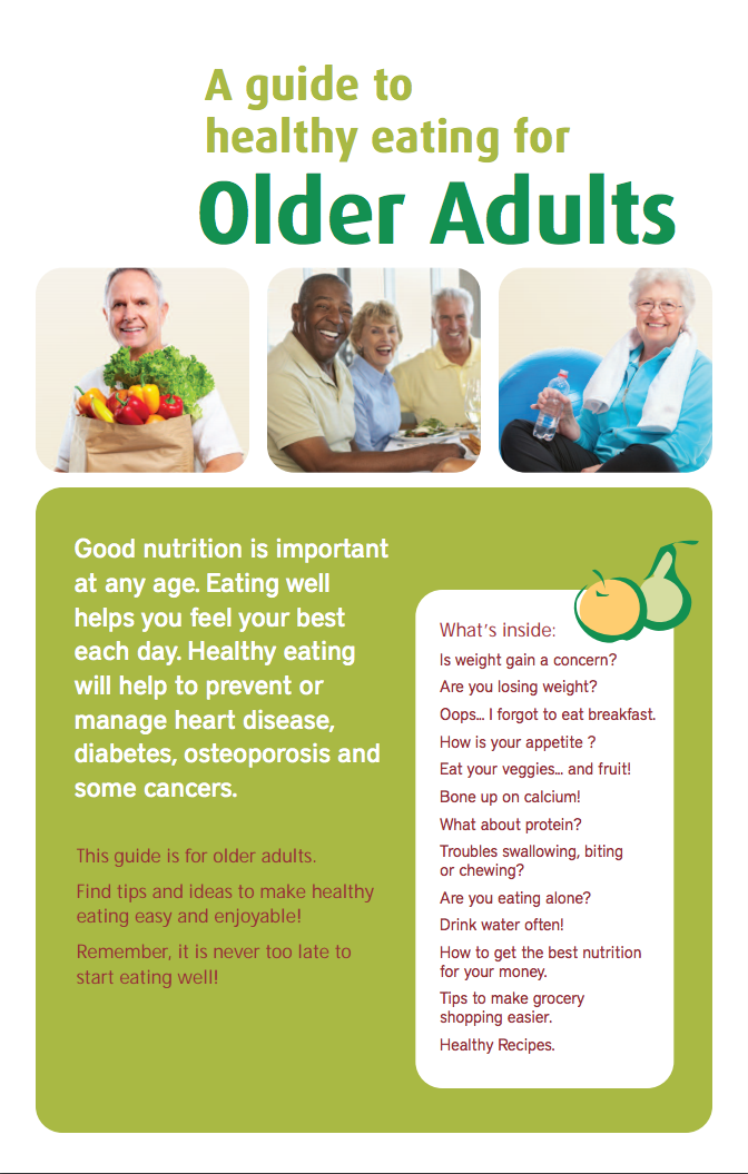 A Guide to Healthy Eating for Older Adults - Unlock Food